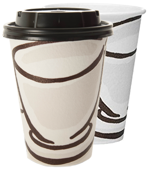 Milano Insulated Paper Coffee Cups
